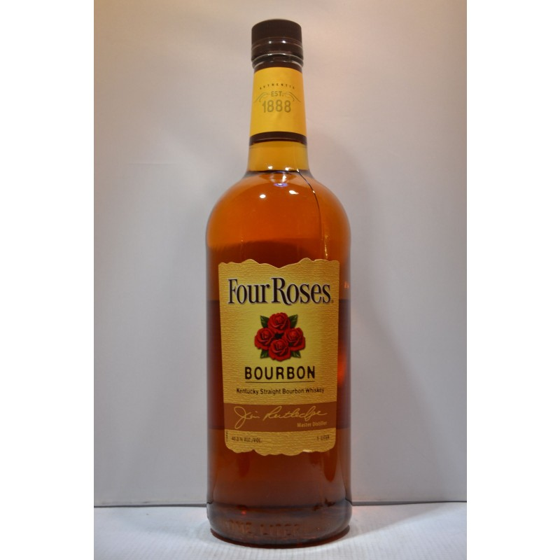 Buy FOUR ROSES BOURBON YELLOW LABEL 1LI