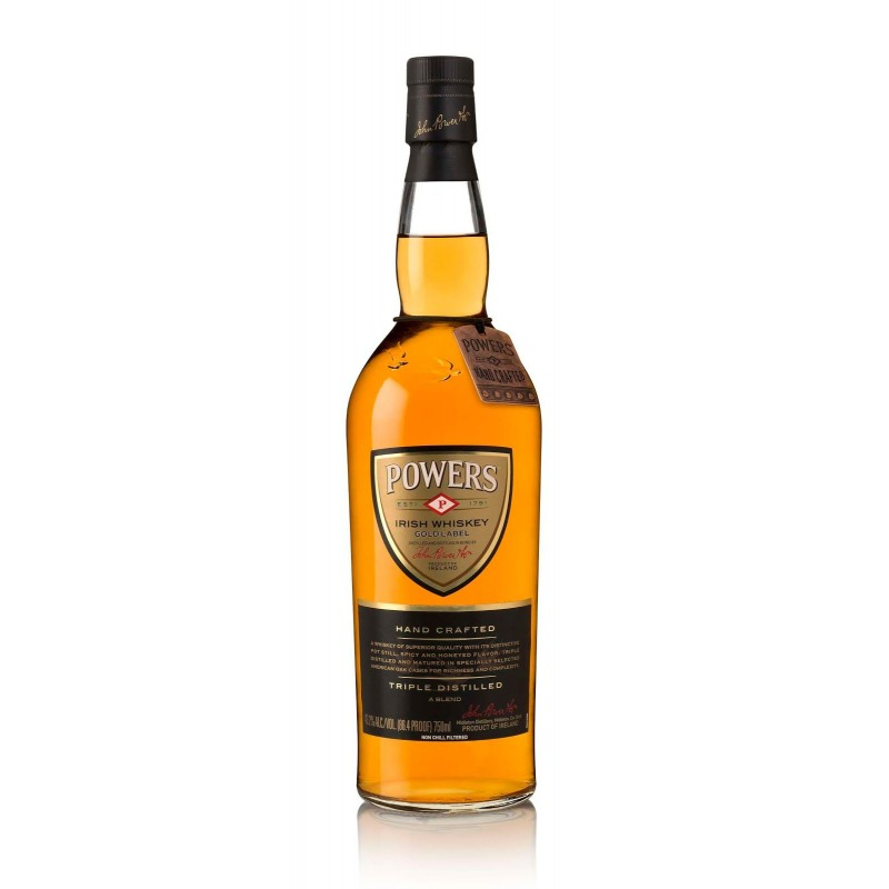 POWERS GOLD LABEL 12YR IRISH WHISKEY 750ml