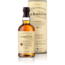 BALVENIE SCOTCH SINGLE MALT 21YR 750ML