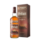 BENRIACH SCOTCH SINGLE MALT PEATED SPEYSIDE 30YR 750ML