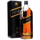 JOHNNIE WALKER SCOTCH BLENDED  BLACK LABEL 1.75LI