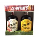 CLYDE MAYS ASSORTED BOURBON AND WHISKEY ALABAMA 2X375ML