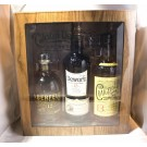 DEWARS SCOTCH GFT IN HUMIDOR BOX DEWARS 12/ ABERFELD 12/ CRAIGELLACJIE 13YR 3X750ML