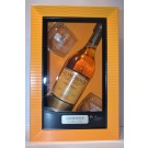 GLENMORANGIE SCOTCH SINGLE MALT ORIGINAL HIGHLAND W/2 GLASSES GFT PK 86PF 10YR 750ML
