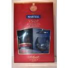 MARTELL COGNAC VSOP W/2 GLASSES GFT PK FRANCE 750ML