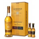 GLENMORANGIE SCOTCH SINGLE MALT ORIGINAL HIGHLAND GFT PK W/ 50ML AND GLASS 750ML