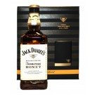 JACK DANIEL'S WHISKEY HONEY TENNESSEE GIFT PACK With ICE MOLD 750ML