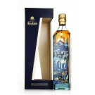 JOHNNIE WALKER BLUE LABEL SCOTCH BLENDED YEAR OF DOG LIMITED EDITION 92PF 750ML