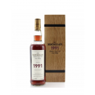 MACALLAN FINE & RARE SCOTCH SINGLE MALT 1991 750ML
