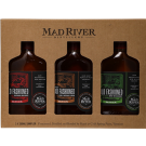 MAD RIVER DISTILLERS SAMPLER PACK OLD FASHIONED (BOURBON, RUM, AND RYE WHISKEY) 3X200ML