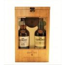 GLENLIVET SCOTCH SINGLE MALT COMBO GIFT  PACK FOUNDERS RESERVE / 12 YEAR 2X750ML