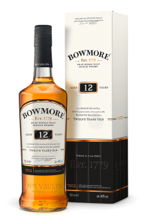 BOWMORE SCOTCH SINGLE MALT 12YR 750ML