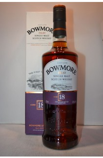 BOWMORE SCOTCH SINGLE MALT THE VINTNERS TRILOGY IN MANZANILLA CASK ISLAY 18YR 750ML
