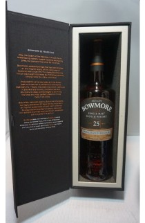 BOWMORE SCOTCH SINGLE MALT ISLAY 25YR 750ML