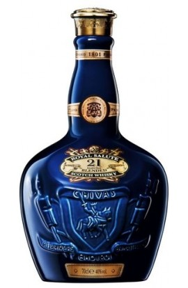 CHIVAS BROTHERS ROYAL SALUTE SCOTCH BLENDED 21YR 750ML
