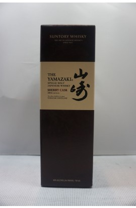 THE YAMAZAKI BY SUNTORY WHISKEY SINGLE MALT SHERRY CASK 2016 EDITION JAPAN 96PF 750ML