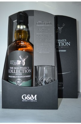 GORDON & MACPHAIL THE MACPHAILS COLLECTION SINGLE MALT SCOTCH WHISKY SPEYSIDE 40 YEAR 750ML