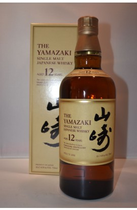 THE YAMAZAKI WHISKY SINGLE MALT JAPANESE 86PF 12YR 750ML