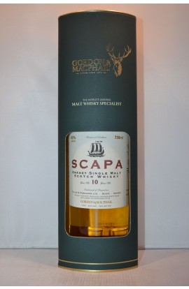 GORDON & MACPHAIL SCAPA SCOTCH SINGLE MALT ORKNEY 86PF 10YR 750ML