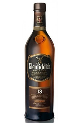 GLENFIDDICH SCOTCH SINGLE MALT 18YR 750ML