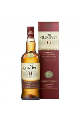 GLENLIVET SCOTCH SINGLE MALT 15YR 750ML ( BUY 2 SAVE $6 COUPON BY PERNOD DISCOUNT REFLECTS TO PRICE SHOWN )