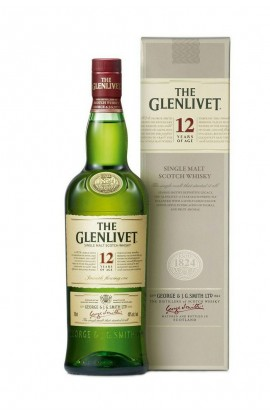 GLENLIVET SCOTCH SINGLE MALT 12YR 750ML