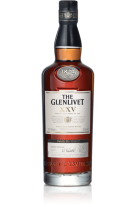 GLENLIVET SCOTCH SINGLE MALT 86PF 25YR 750ML