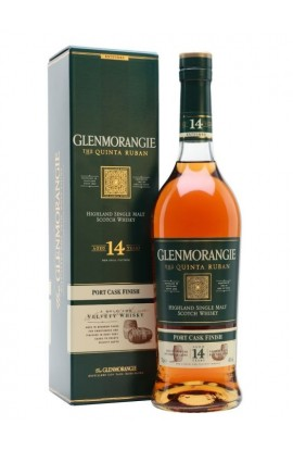 GLENMORANGIE THE QUINTA RUBAN SCOTCH SINGLE MALT PORT CASK FINISH 14YR 750ML