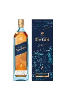 JOHNNIE WALKER SCOTCH BLENDED BLUE LABEL CALIFORNIA LIMITED EDITION 750ML