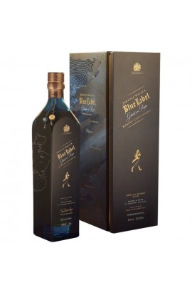 JOHNNIE WALKER BLUE LABEL SCOTCH BLENDED PORT ELLEN GHOST AND RARE 750ML