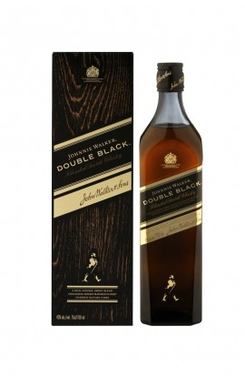 JOHNNIE WALKER SCOTCH BLENDED DOUBLE BLACK 750ML