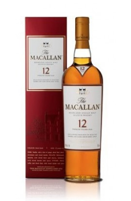 MACALLAN SCOTCH SINGLE MALT SHERRY OAK CASK 12YR 750ML