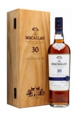 MACALLAN SCOTCH SINGLE MALT SHERRY OAK 30YR 750ML
