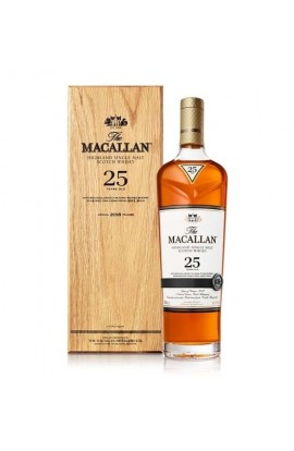 MACALLAN SCOTCH SINGLE MALT SHERRY CASK 86PF 25YR 750ML