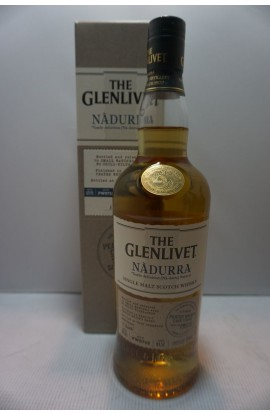 GLENLIVET SCOTCH SINGLE MALT NADURRA PEATED CASK FINISH 123PF 750ML
