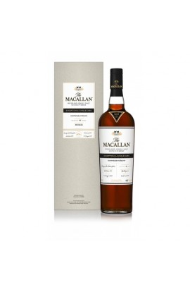 MACALLAN SCOTCH  EXCEPTIONAL SINGLE MALT 1 OF 281 BOTTLES 2017/ESH-13561/07 109.2PF 750ML