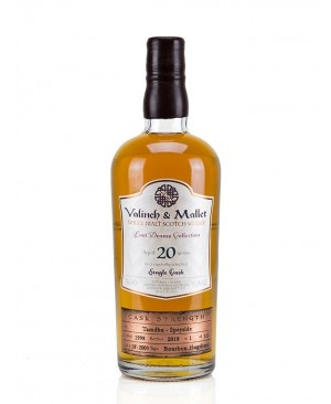 VALINCH & MALLET TAMDHU SCOTCH SINGLE MALT SINGLE CASK 20YR 750ML