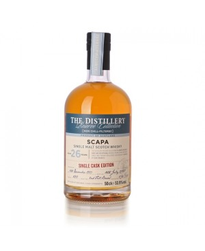 SCAPA 26 YEAR OLD FIRST FILL BARREL