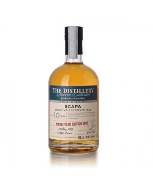 SCAPA 10 YEAR OLD FIRST FILL BARREL