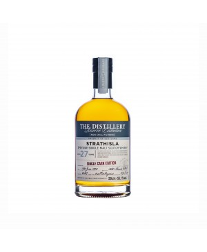 STRATHISLA 27 YEAR OLD SECOND FILL HOGSHEAD