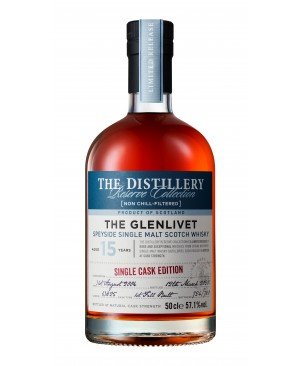 THE GLENLIVET 15 YEAR OLD FIRST FILL BUTT