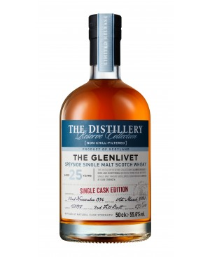 THE GLENLIVET 25 YEAR OLD SECOND FILL BUTT