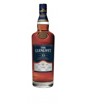 THE GLENLIVET CELLAR COLLECTION 33 YEAR OLD