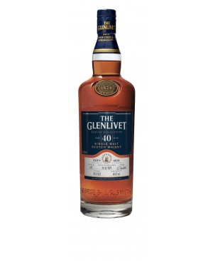 THE GLENLIVET CELLAR COLLECTION 40 YEAR OLD