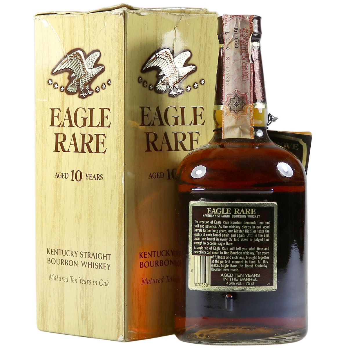 Eagle Rare 10 Year Bourbon whisky