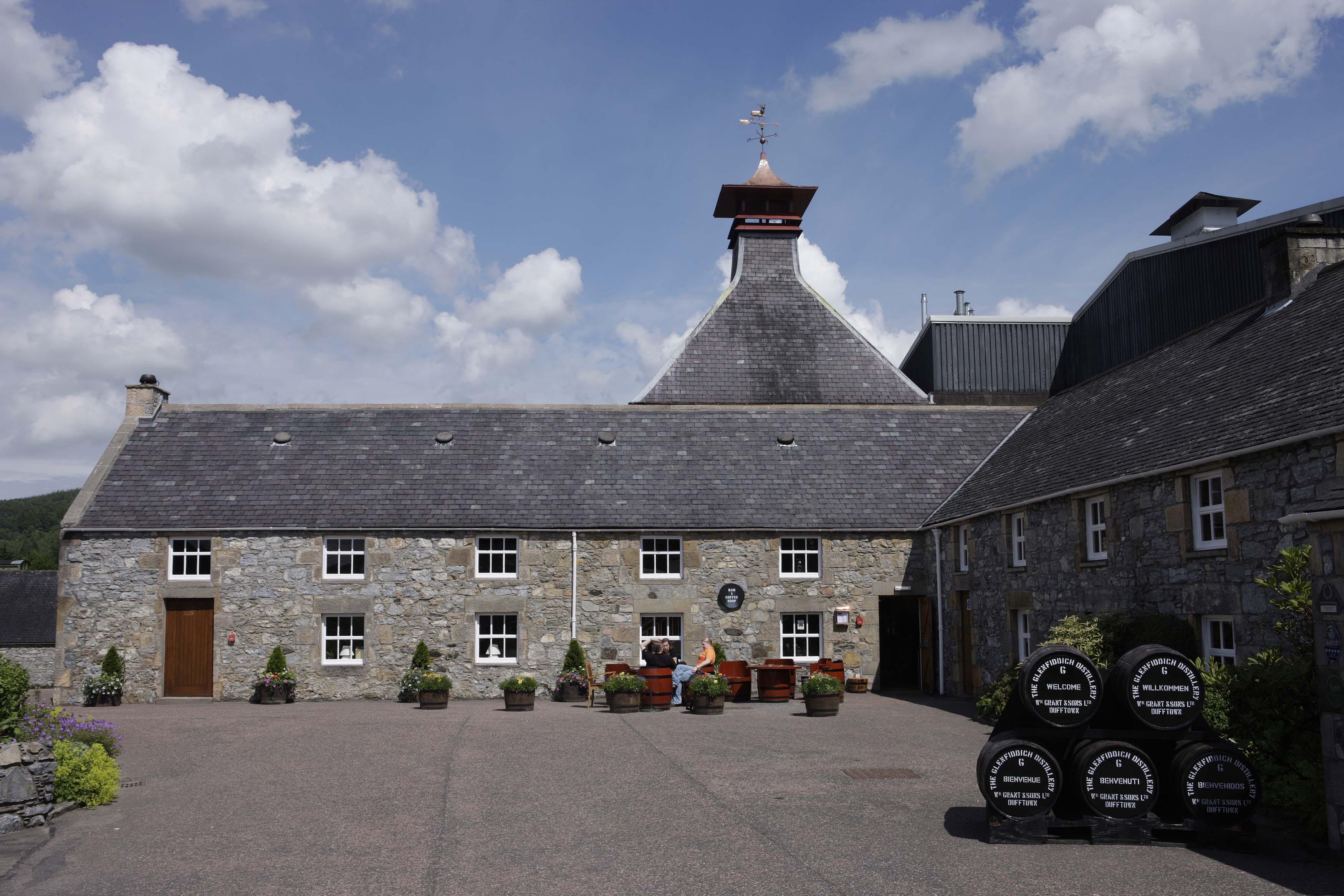 Glenfiddich- beautiful distilleries around the world