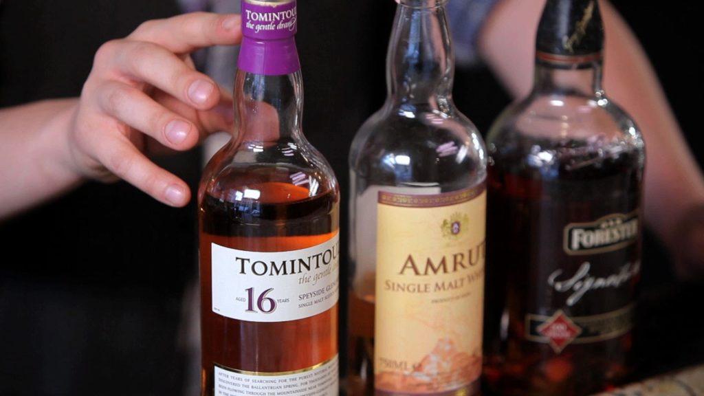 Bourbon Vs. Scotch